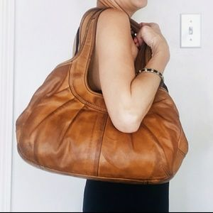 Coach Vachetta Leather Ergo Purse Style #12248